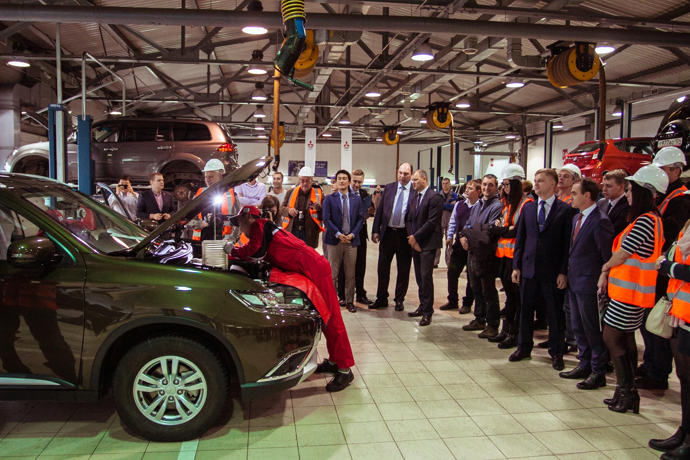 Сервисный CARAVAN Mitsubishi в Красноярске