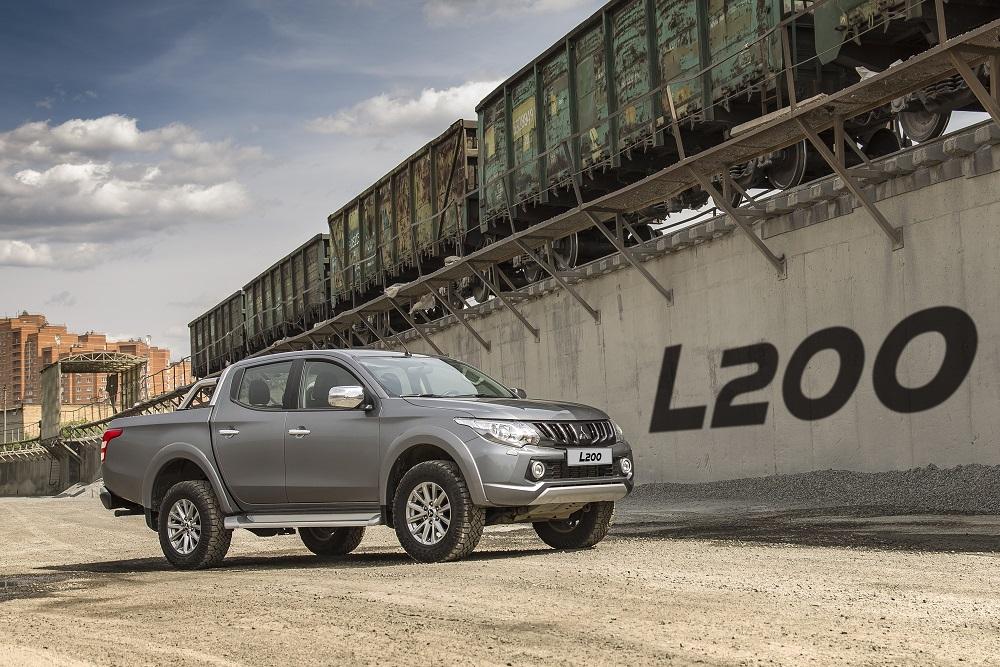 Mitsubishi L200 назван «Пикапом года» рекордный четвертый год подряд